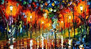 Modern impressionism palette knife oil painting kp167 ...