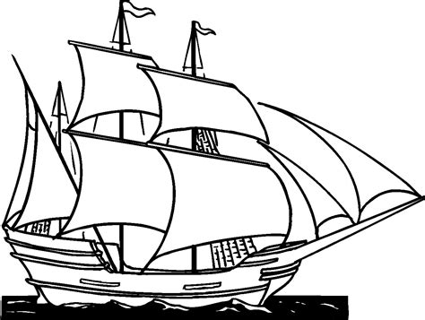 How To Draw A Pirate Boat by Simple Pirate Ship Drawing How To Draw A Pirate Ship