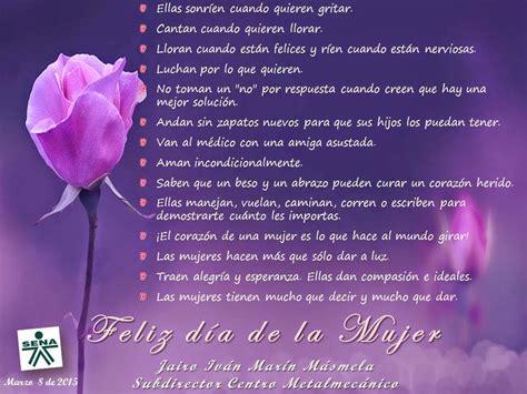 Imágenes Lindas con Flores de Felíz Día de la Mujer con