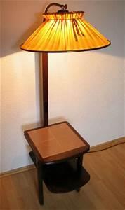 Stehlampe Brauner Schirm : design stil 1950 1959 lampen leuchten antiquit ten ~ Markanthonyermac.com Haus und Dekorationen