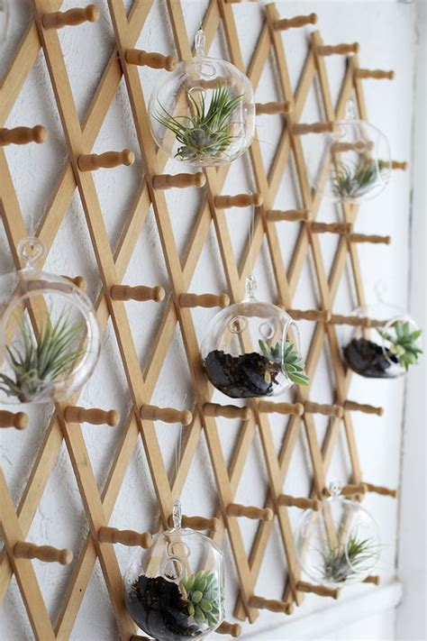 inspiration upcycled coat rackair plant hanger