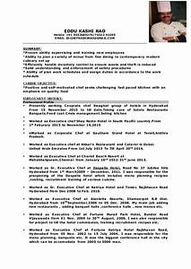 Cover Letter For Cook Chef New Cv Chef 1