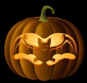 pumpkin carving patterns stencils  scary