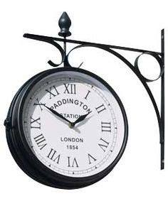 outdoor garden clock paddington 1000 images about just discovered argos clocks on