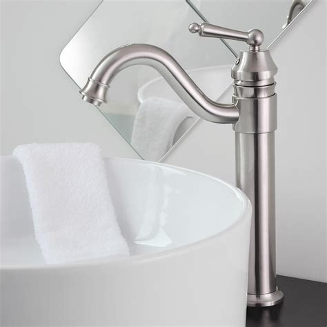 faucet handle bathroom sink bathroom lavatory vessel sink faucet swivel one 23708