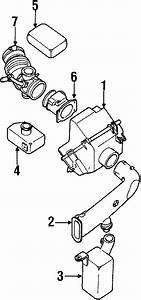 Mercury Villager Engine Air Intake Hose  Transaxle  Oem
