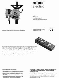 E170e2 Iq Mk2 Installation Maintenance Instructions 01