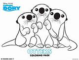 Coloring Dory Finding Pages Sheets Activity sketch template