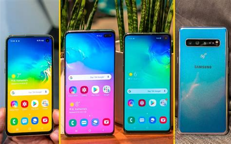 samsung galaxy s10 s10 s10e s10 5g handson review gsmarena tests