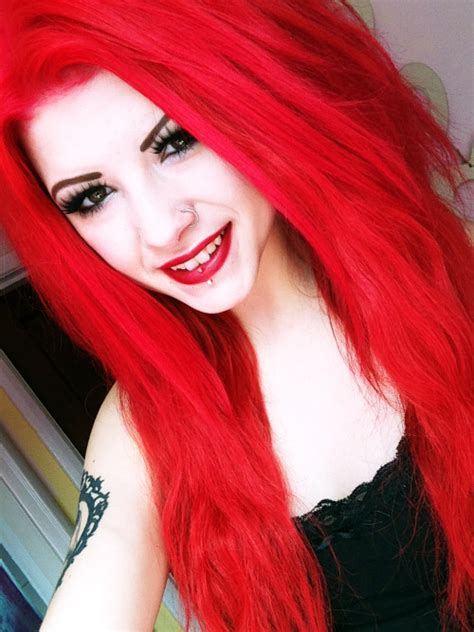 Bright Red Hair On Tumblr