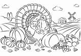 Thanksgiving Turkey Harvest Coloring Printable Categories Bird Coloringonly sketch template