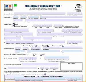 Declaration D Achat Vehicule A Remplir En Ligne : certificat de vente scooter ~ Gottalentnigeria.com Avis de Voitures