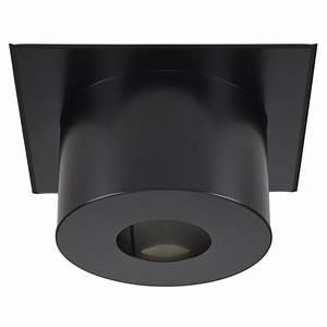 Plaque De Finition Plafond 150 : plaque finition plafond ronde noire mat fpc h220 i g ~ Dailycaller-alerts.com Idées de Décoration