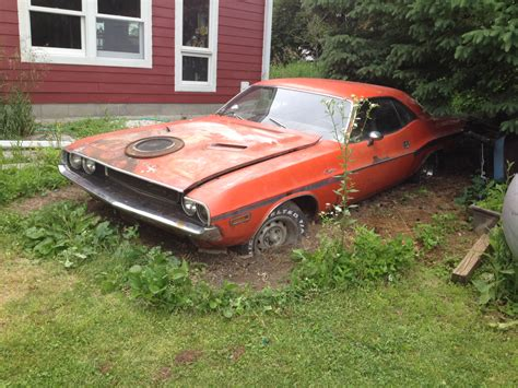 1970 Dodge Challenger R/T Yard Find   Mopar Blog