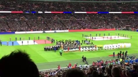 Paris Attacks Watch England France Fans Defiantly