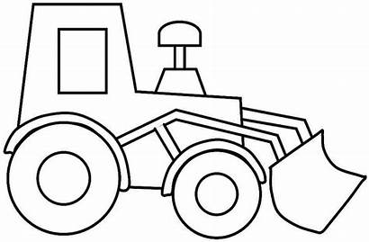 Construction Coloring Vehicles Pages Via