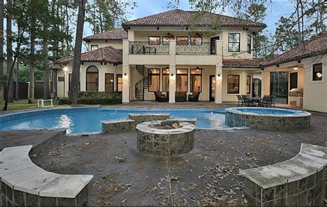 $245 Million Mediterranean Home In Houston, Tx  Homes Of