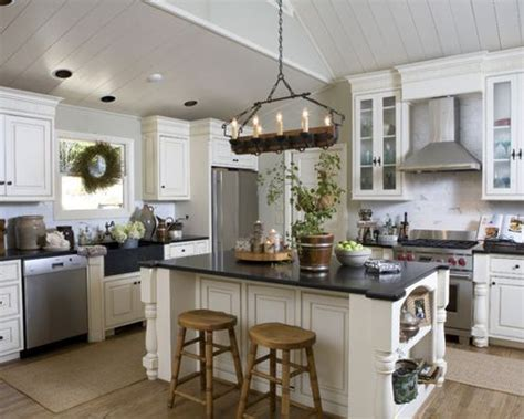 decorate kitchen island kitchen island decorating houzz 3111
