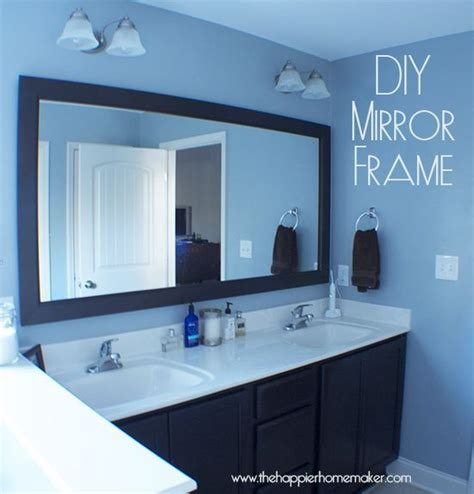 How Do You Frame A Bathroom Mirror by Do You A Bathroom Mirror That Could Use An Update
