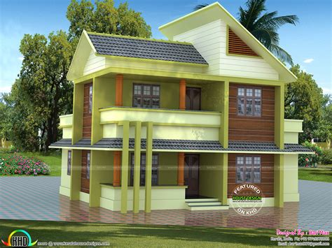 6 Lakh Home Design :  1700 Sq-ft ?30 Lakhs Cost Estimated Modern Home