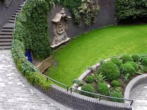 sunken garden barbican london  christine matthews