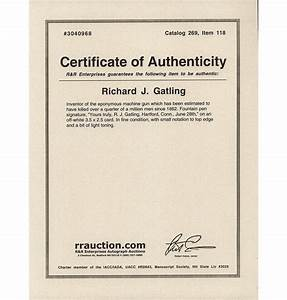 certificate of authenticity template for autograph images With certificate of authenticity autograph template