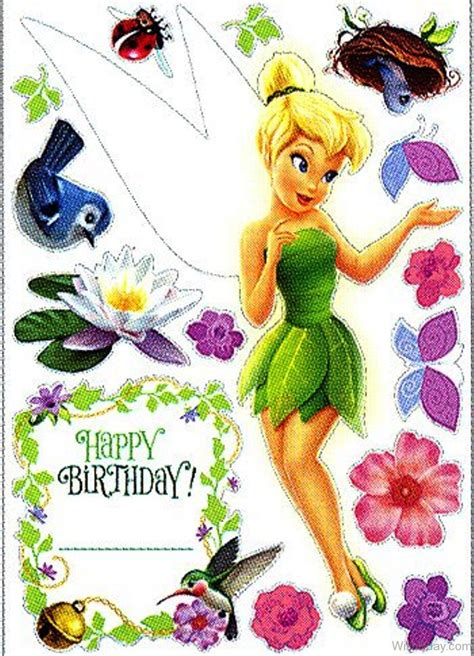 tinkerbell birthday wishes