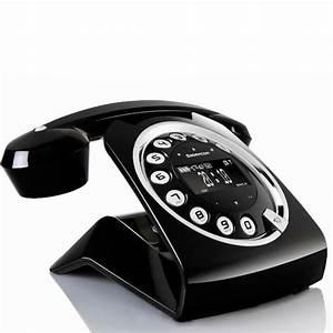 Telephone Sans Fil Vintage : sagemcom black sixty t l phone sans fil sagemcom sur ~ Teatrodelosmanantiales.com Idées de Décoration