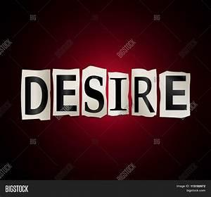 Desire Word Concept. Stock Photo & Stock Images   Bigstock
