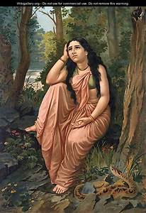 Damayanthi Vanavas 2 - Raja Ravi Varma - WikiGallery.org ...