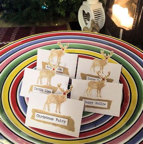 Making Christmas Place Cards  Lollipop Box Club