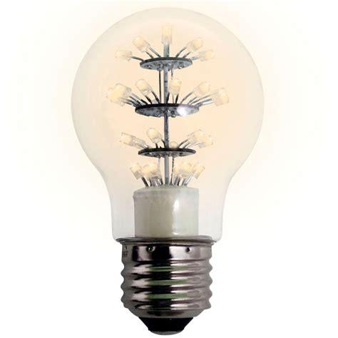 meilo 25w equivalent soft white a19 dip led light bulb