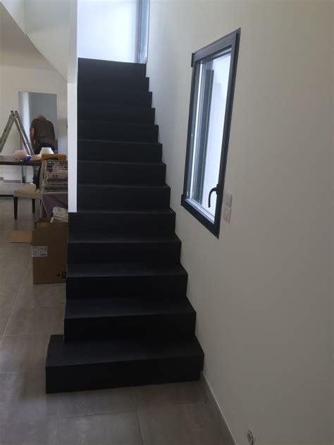 comment renover sa cuisine en chene escalier en béton ciré atelier de décoration