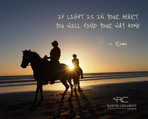 inspirational horse quotes  rancho chilamate rancho