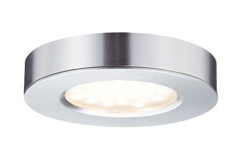 luminaire led cuisine kit 3 spots 3 x 3w plat led intégrée alu paulmann 93547
