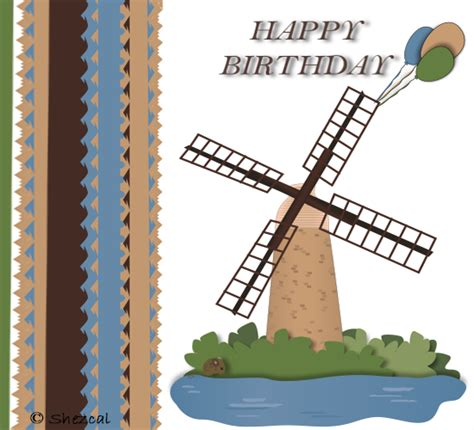 happy birthday balloon windmill  happy birthday ecards