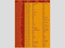 Auspicious dates Australian Council Of Hindu Clergy Inc
