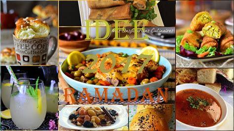 idee recette cuisine idée recette ramadan 2017 le cuisine de samar