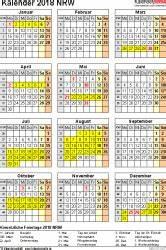 Ferien Nrw 2018 19 : kalender 2018 nrw ferien feiertage excel vorlagen ~ Buech-reservation.com Haus und Dekorationen