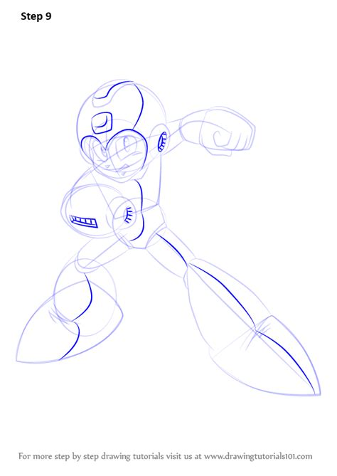 learn   draw mega man mega man step  step