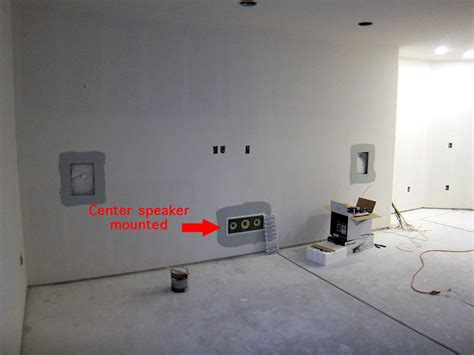 Finish Basement Home Theater Before After Pictures