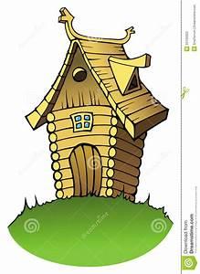 maison en bois de dessin anime photographie stock image With dessin de maison en bois