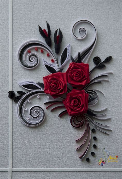 neli quilling art quilling cards roses