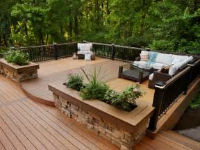 Stunning Raised Decking Designs Photos by Outdoor Deck Designs Pictures Amazing Deck Designs Raised