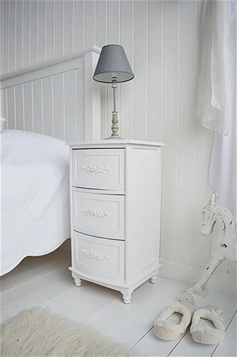 white rose lamp table bedside table  white lighthouse bedroom living room furniture