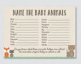 instead of a card bring a book baby shower baby animals name winter baby shower printable instant