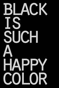 BLACK IS SUCH A HAPPY COLOR #morticiaaddams #quote ...