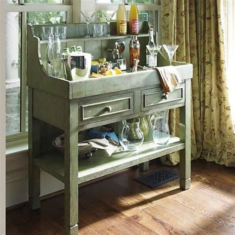 kitchen accent furniture use an sink as a tea or coffee station beautiful