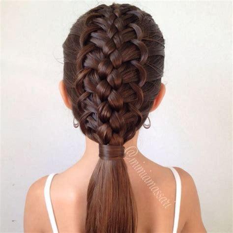 cool braids ideas  pinterest