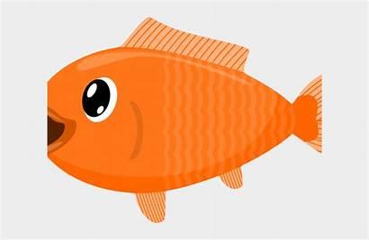 Isda Goldfish Clipart Cartoon Transparent Clear Fishery
